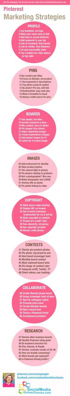 50 Tipps für Pinterest