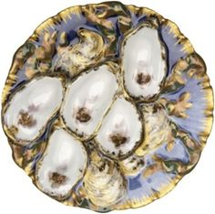 This 9-inch 1880 oyster plate was identical to the ones used in the Rutherford B. Hayes White House but was a version that was issued to the public during his administration. It sold for $1,195 (including buyer's premium) in 2009.