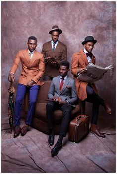 Nigerian Designer McMeka Introduces Suave 'Work Hard Play Hard' Menswear Collection | FashionGHANA.com (100% African Fashion)FashionGHANA.com (100% African Fashion)