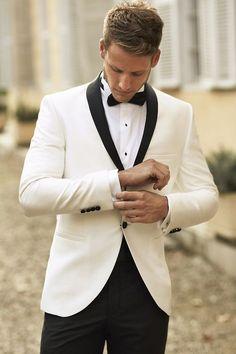Vintage Men Suits Jackets+Pants 2016 New Man White Suit Man Slim Wedding Groom Suits with Pants Formal Tuxedo Costume Homme