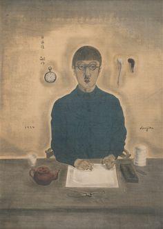 Tsuguharu Foujita: My portrait