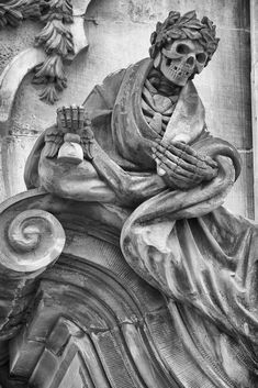 Reaper Statue, Grim Reaper, Dark Fantasy Art, Dark Art, Memento Mori, Sculpture Art, Sculptures, Grave Monuments, Skull Reference