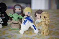 Crochet+Star+Wars+Characters   Darth's buttons don't work which is a little bit of a relief to tell ...