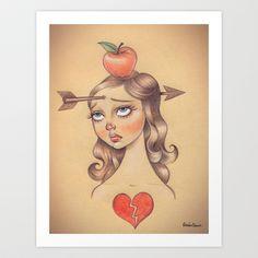Trust Art Print by Roberta Oriano - $28.08