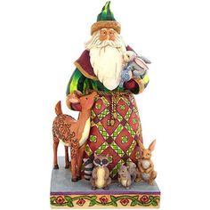 Woodland Christmas Jim Shore Collectible Figure