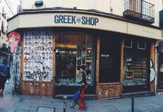 Greek and Shop in Malasaña
