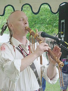 'Cherokee' Daniel Bigay only charges $150 to teach you how to make a flute