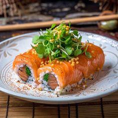 Stunning sushi @mazegrill for #nationalriceweek #sushi