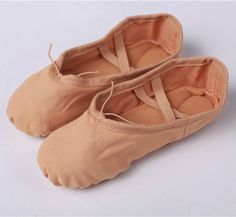 2017 Canvas Soft Ballet Dance Shoe For Women Split Cow Leather Outsoles Gym Yoga Dancesport Shoes Girls Toe Dance Slippers