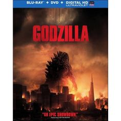 Godzilla Blu-ray + DVD $8 at Best Buy