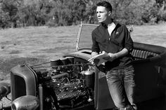 """Colton Haynes in Abercrombie & Fitch's Spring 2014 """"Making of a Star"""" campaign"""