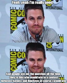 Stephen Amell #SDCC