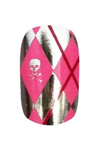 Kooky Nail Wraps - Funk'd Argyle | Hollywood Nail Design £5.50