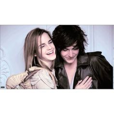 emma watson and george craig ❤ liked on Polyvore featuring emma watson, harry potter, models, backgrounds and celebrities
