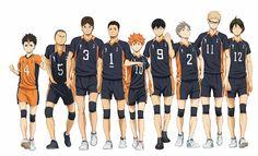 Karasuno// for the love of God Someone get Tanaka pockets
