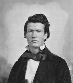 A young Mark Twain.