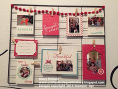Craftastic Days with Stacy: Hello Life Project Rack - Christmas Edition; Project Life; Hello December 2015 Project Life Card Collection; #stampinup; #holidaycatalog2015; Holiday Décor Stampin' Up!