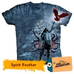 Spirit Feather Feather, Eagle, Mens Tops, T Shirt, Mountain, Spirit, Fashion, T Shirts, Supreme T Shirt