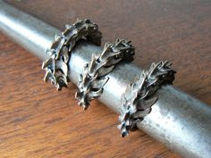 Bronze Rat Vertebrae Ring  Life Casting by CrystallosJewelry, $75.00