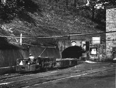 Koppers Coal Company, Keystone, West Virginia: Mine Train Coming Out of Mine, August 31, 1944.