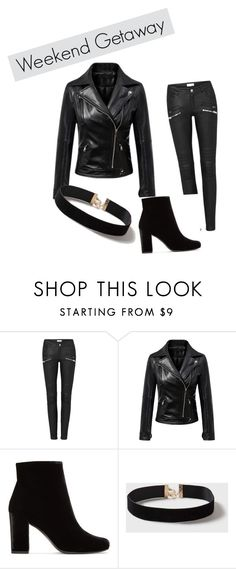 """""""Emma's borrowed clothes"""" by anna-marie-dudka ❤ liked on Polyvore featuring Yves Saint Laurent and Dorothy Perkins"""