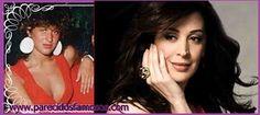 Parecidos con famosos: Claudia Raia actriz Brasileña antes y después