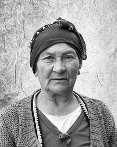 Title  Elderly Lady In Black And White   Artist  Phyllis Taylor   Medium  Photograph - Photography