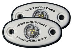 Rigid Industries LED Lights - A-Series - White/Amber LED - Pair