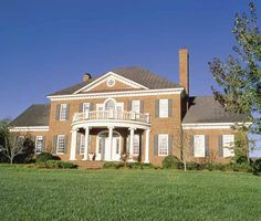 Adams Style House Plans | Four Bedroom Adam - Federal