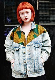 Vintage Denim Jacket by Bukki  £42.99