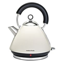 Morphy Richards Accents Traditional Kettle - White: Image 01