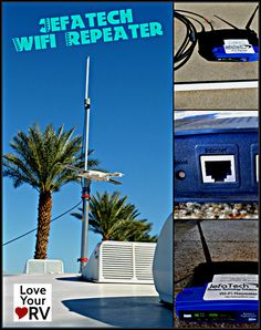 What a pleasant surprise when I was able to pull in weak signals.  As an example I was camped at the Rio Grande Village RV area in Big Bend National Park. They had free wi-fi but it was hundreds of yards away near the camp store.  Most people had to drag their laptops down to the store area but with the Jefatech I was able to hangout in and around my RV and get a good connection. http://www.loveyourrv.com/jefatech-wifi-repeater/ #RV #Wifi #Booster