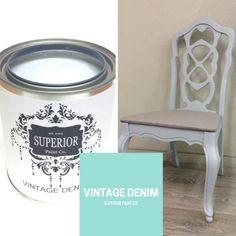 Vintage Denim Painted Furniture, Furniture Design, Paint Companies, Vintage Denim, Modern Farmhouse, Painting, Inspiration, Biblical Inspiration, Vintage Jeans