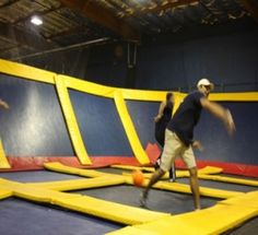 New Trampoline Park in Nashville.  Don't think I should do this for 5 more months but after that...BRING IT!