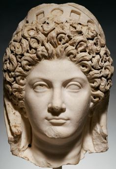 Head of Julia Titi. Unknown, Roman, Italy, about A.D. 90 | The J. Paul Getty Trust