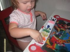 A list of learning activities for one year olds from The Activity Mom