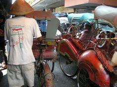 becak's - Solo, Indonesia - by selmadisini 2009