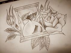 Drawing | Tattoo Idea | Roses