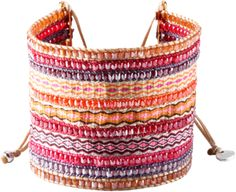 Mishky Bracelet Collage Fuscia Big - Polyvore