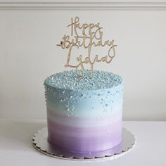 Ombre Cake Frozen Birthday Cake Birthday Cake Decorating within Ombre Birthday C. Ombre Cake Frozen Birthday Cake Birthday Cake Decorating within Ombre Birthday Cake – Party Suppl Frozen Themed Birthday Cake, Blue Birthday Cakes, Elsa Birthday Cake, Sweet 16 Birthday Cake, 10 Birthday Cake, Frozen Theme Cake, Third Birthday, Mermaid Birthday, Birthday Ideas