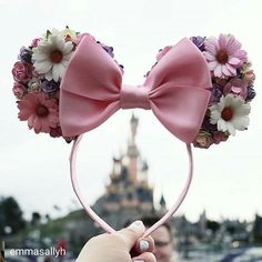 Disney trip Disney Diy, Diy Disney Ears, Disney Mickey Ears, Disney Crafts, Mickey Ears Diy, Disney Bows, Punk Disney, Disney Rapunzel, Princess Disney