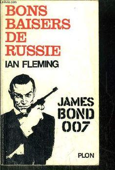 Image result for bons baisers de russie james bond 007 book