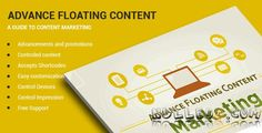 Advanced Floating Content v2.8 WordPress Plugin