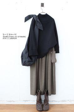 ファッション ファッション in 2020 Fashion Moda, Skirt Fashion, Trendy Fashion, Fashion Dresses, Modest Fashion Hijab, Muslim Fashion, Japanese Fashion, Korean Fashion, Oska Clothing