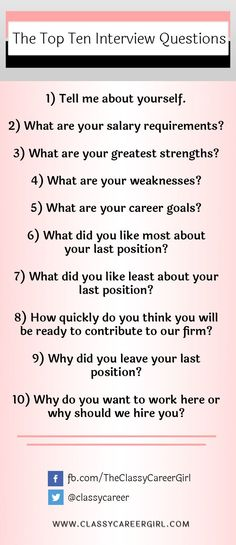 Be Prepared: Can You Answer These Common Job Interview Questions? |  Interviews | Pinterest | Common Job Interview Questions, Job Interview  Questions And Job ...