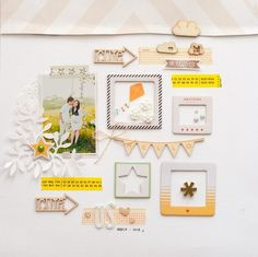 #papercraft #scrapbook #layout.  Us Thankfull by geekgalz at @Studio_Calico