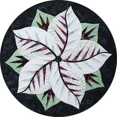 Poinsettia, Quiltworx.com, Made by Quiltworx.com Table Topper Patterns, Foundation Paper Piecing, Square Quilt, Poinsettia, Quilt Making, Quilting Designs, Quilt Blocks, Quilt Patterns, Quilts