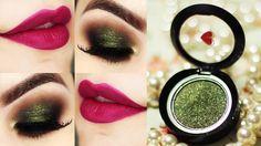 Tutorial – maquiagem com a sombra Verdelícia e batom Uvali da quem disse, berenice