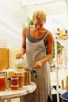 Cómo utilizar aceite de cocina como un componente aditivo para las velas