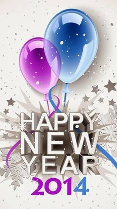 Happy New Year 2014 via Sandrine Hersry